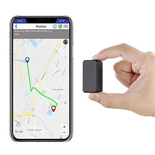 angang Mini GPS Tracker, Anti-Diebstahl-GPS, tragbare Positionierung Artefakt, für Brieftaschen, Dokumente, Haustiere, Autos, Kinder