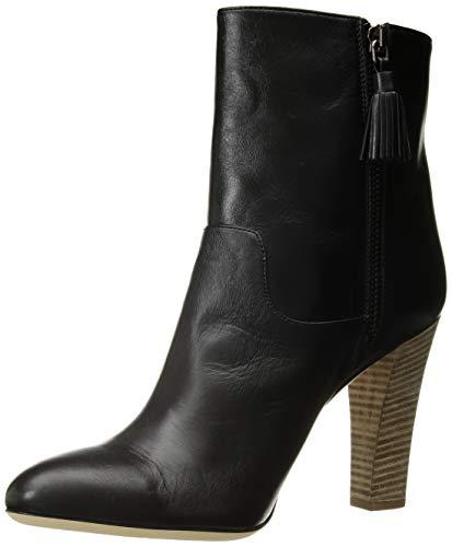 SJP by Sarah Jessica Parker Damen Jackson Almond Toe Ankle Boot Stiefeletten, Schwarz (Black Nappa Leather Blkle), 41.5 EU