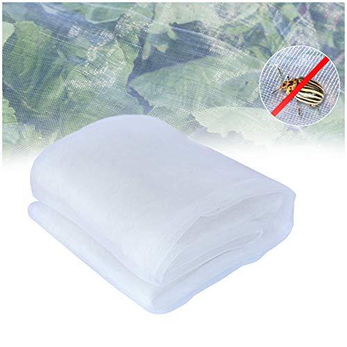 AGUDOU Rete Protezione da Giardino Anti Insetti,Multifunzione Zanzariera Protezione da Insetti a Maglia fine per Frutta,Fiori,Colture e Serre (2.5 * 10M)