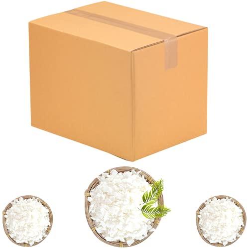 Cartone cera di soia in coccole per produzione di candele, 15 kg, qualità premium, 100% naturale e biodegradabile, senza OGM, origine europea, confezionato in Francia, cera vegetale, per massaggio