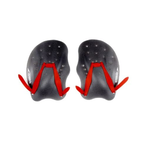 Speedo Tech Paddle, Attrezzatura da Allenamento Unisex Adulto, Grigio (Red/Grey), L
