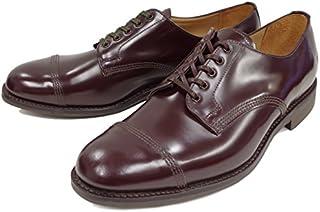 [サンダース] 靴 MILITARY DERBY SHOE 1128 バーガンディー