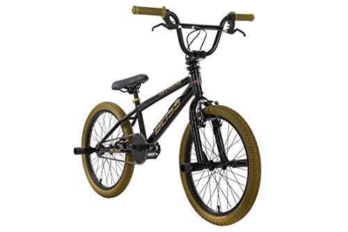 KS Cycling BMX Freestyle 20'' Bliss schwarz-Gold