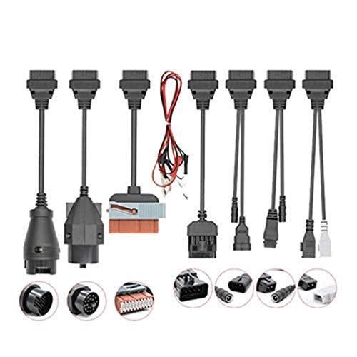 Xegood OBD2 Auto-Diagnosegerät, 8 Stück, Auto-Diagnosewerkzeug, Kabeladapter, OBD2-Schnittstelle für Delphi DS150e für Autocom CDP Pro OBD2-Adapterkabel