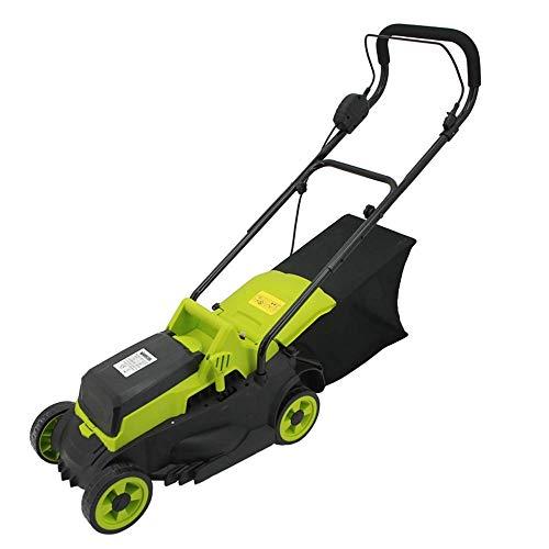 24V Hand-held elektrische grasmaaier, Low Noise/Kluis/Duurzaam Cordless Mower met batterij en oplader, Cutting Width 320mm ZHNGHENG