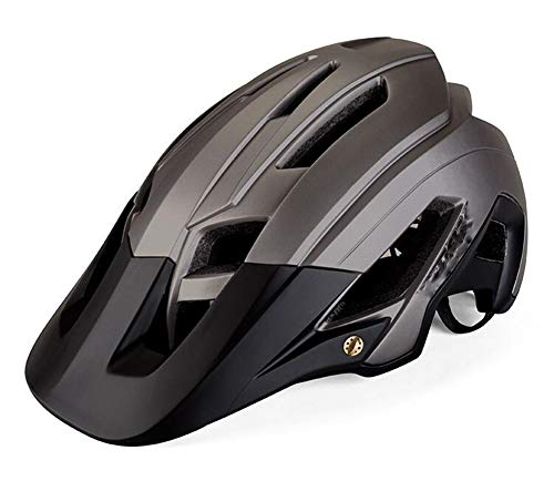 YFOZCOM Casco de Bicicleta, Protección de Seguridad Ajustable Casco de Bicicleta Ligera,56-62cm, Unisex Adulto
