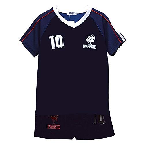 Unbekannt Fußball Sommer Shorts Jungen neu Mädchen-Weste Kit Set Größe Alter 2-12 Jahre BNWT