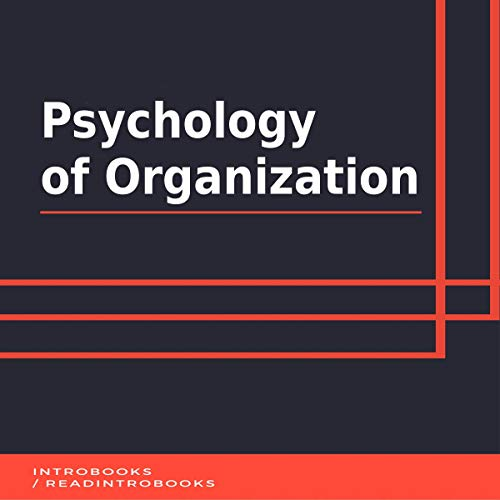 Couverture de Psychology of Organization
