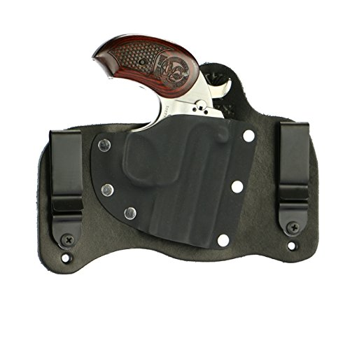 FoxX Holsters Bond Arms Snake Slayer .45 Colt/410 in The Waistband Hybrid Holster Tuckable, Concealed Carry Gun Holster (Black)