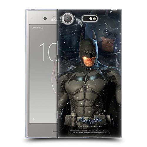 Head Case Designs sous Licence Officielle Batman Arkham Origins Batman Personnages Coque en Gel Doux Compatible avec Sony Xperia XZ1 Compact
