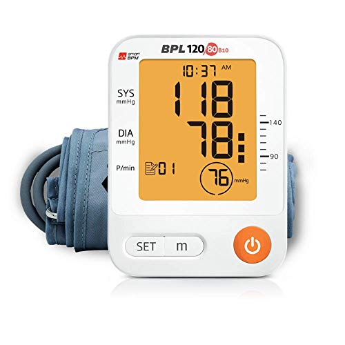 BPL Medical Technologies 120/80 B10 Automatic Blood Pressure Monitor (White)