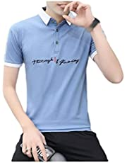 Coolred Men Vogue Summer Slim Fit Short-Sleeve Cotton Pique Polo Shirt
