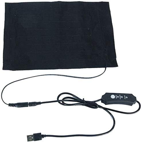 Lyxmy Ropa Calefacción Almohadilla, 5V USB Calefacción Eléctrica Tapete Elemento por Bricolaje...
