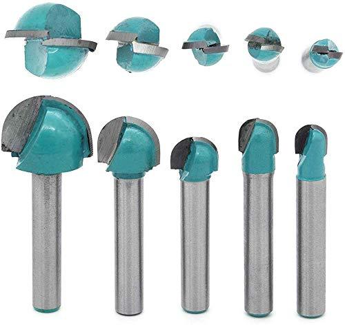 DingGreat 5 tlg 6 mm Schaft Oberfräser...
