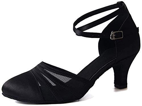 Syrads Zapatos Baile Latino Mujer Baile Salón Tacón