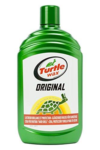 Turtle Wax TW52871 Cera Original para Coche 500 ml Mezcla de Ceras y limpiadores eliminan la Suciedad incrustada. Protección y Brillo, 500ml