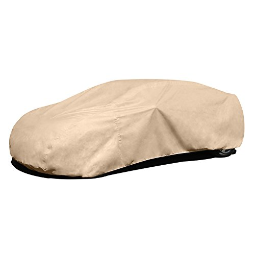 "Budge RSD-5 Rain Barrier Car Cover Tan 264"" L x 70"" W x 53"" H Outdoor, Waterproof, Breathable"