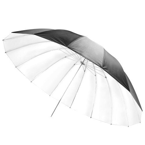 Walimex Pro Reflexschirm schwarz/weiß, Durchmesser 180 cm