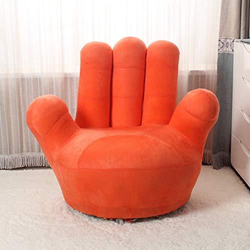 QI-shanping Kinder-Sofa-Stuhl, Baseball-Handschuh-geformte Finger-Art-Kleinkind-Sessel-Wohnzimmer-Sitz, Kindermöbel Fernsehstuhl / (35.4x13.8x33.5inches / 27.6x11.8x25.6inches