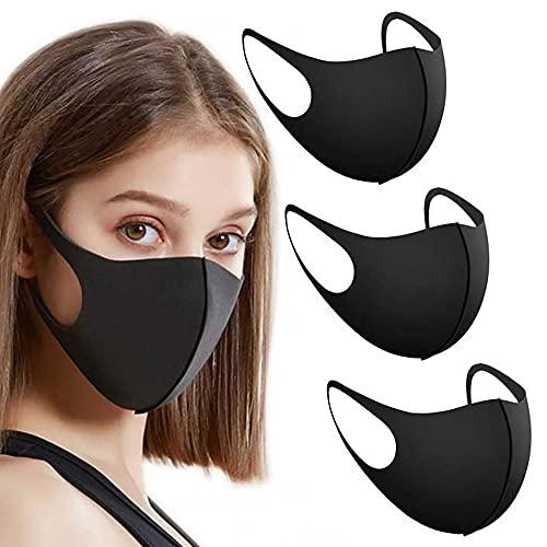 EVMed Maschera viso riutilizzabile. Maschere uso personale in tessuto lavabile e riutilizzabile per donne e uomini TAGLIA PICCOLA (3 Pezzi)