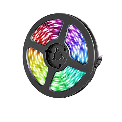 Tira de luces LED Bluetooth LED tira de luz inteligente música App Control RGB luces LED flexibles para sala de estar Tv ordenador dormitorio fiesta cocina DC 12v luces LED cuerda