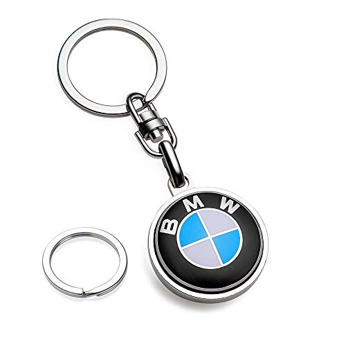 BMW Key Chains 3D Metal Emblem Pendant Car Logo Key Ring for BMW Key Chain Accessories,Series Family Present for Man and Woman