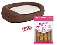 Orthopaedic dog bed 118 x 74 x 24 cm ideal for sporting dogs as well as dogs with joint problems or older dogs Visco-elastic mattress with memory foam adapts to the body-shape and temperature to relieve pressure on the joints High quality mattress ma...