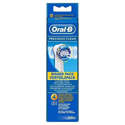 Oral-B Precision Clean EB20, Paquete de 4 Cabezales para Cep