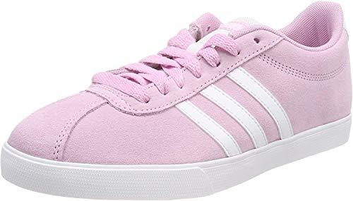Adidas Courtset, Zapatillas de Deporte Mujer, Rosa (Rosa 000), 36 2/3 EU