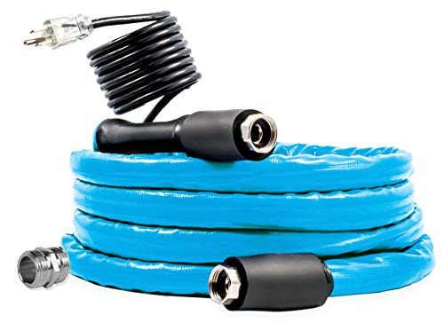 Camco 12ft Cold Weather Heated Drinking Water Hose Can Withstand...