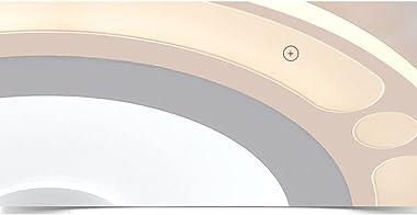 PHTDCQ Blanc rond LED encastré plafonnier matériel peinture ultra-mince plafonnier créatif simple moderne luminaire domestiqu