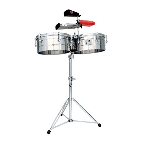 Latin Percussion Tito Puente LP257-S Stainless Steel · Timbales