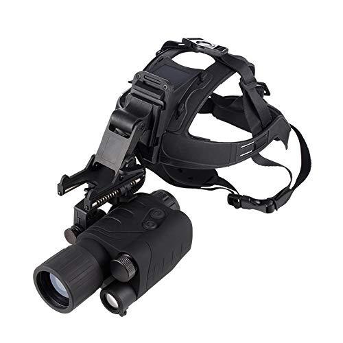 UNJ Nachtsichtgerät Mini Portable,Infrarot-Nachtsichtgerät Digital Nachtsichtgerät Mit Helm IR Night Vision Monocular Für Bootfahren, Erholung, Astronomie, Naturbeobachtung und Camping