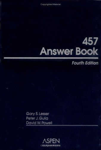 457 Answer Book, Fourth Edition
