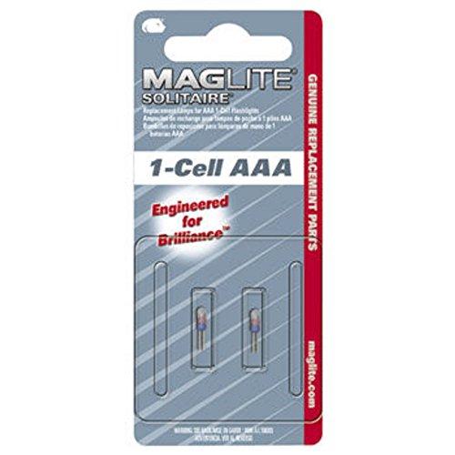 Maglite LK3A001 Bulb, White, 1-Pack