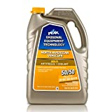 PEAK OET Extended Life Gold 50/50 Prediluted Antifreeze/Coolant for North American Vehicles, 1 Gal.