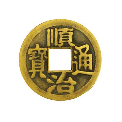 LIOOBO Paquet de 10 pièces de Fortune en amulette Chinoise F