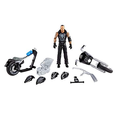 WWE GVJ81 - Wrekkin' SlamCycle Motorrad mit Undertaker Basis-Actionfigur, Geschenk für Kinder ab 6 Jahren