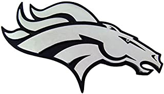 Denver Broncos Heavy-Duty Metal Auto Emblem