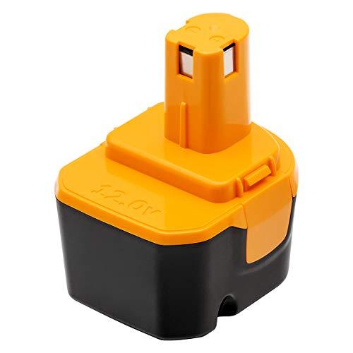 Sakule リョービ バッテリー リョービ B-1203F2 12V 3.0Ah リョービ互換バッテリー B-1203 1203C B-1203F3 B-1203M1 BPL-1220 B-8286 BPT1025 RY-1204リョービ12vバッテリー 電池パック 互換バッテリー ニッケル水素電池