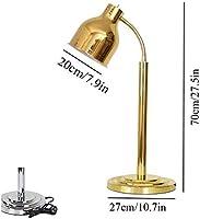 DAGCOT 駅ランプ表示暖房保全ライト、ポータブル250ワットヒートランプSTARYAORUカービングケータリングヒートランプ厨房ヒートランプ食品温暖化ランプシングル/ダブル球根ビュッフェ