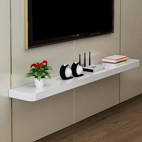 Effen houten muur plank drijvende plank muur gemonteerde TV plank TV stand WiFi Router DVD speler CD Projector TV Box Display Stand Plaats De plank