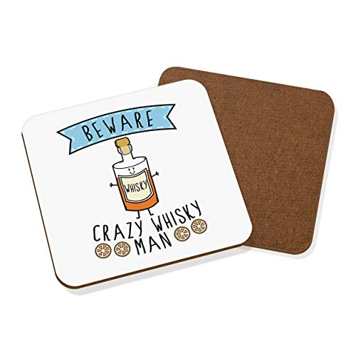 Gift Base Attention Crazy Whisky Homme dessous Tapis