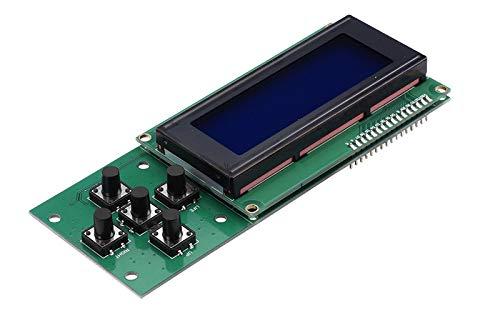 TWP 3D Drucker LCD-Display 5Schlüssel Drehknopf 2004lcd High Qualität DIY Zubehör mit 1LCD Kabel Passende Melzi 2Main Board