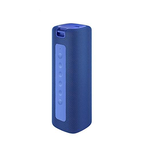 RYSF Haut-Parleur Portable extérieur 16W Connexion Son de Haute qualité IPX7 Étanche 13 Heures de Lecture Haut-Parleur pour Bluetooth (Color : Blue)