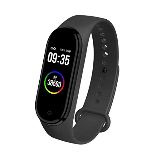 HUG PUPPY M4 Band Bluetooth Health Wrist Smart Band Monitor|SmartHealth for Men & Women Activity Fitness Tracker