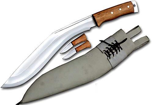 Everest Blade 38cm Klinge Afghanischer Verteidiger Kukri Messer-Khukuri Schwert-Handmade Messer-Handgeschmiedete Messer aus Nepal-Gurkh Kukri Messer