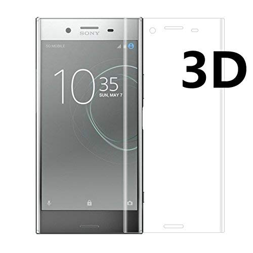 Tuta Tempered Glass with Nano tech Technology 0.26mm Highly Transparency Front Screen Protector for Sony Xperia XZs (Pack of 2)