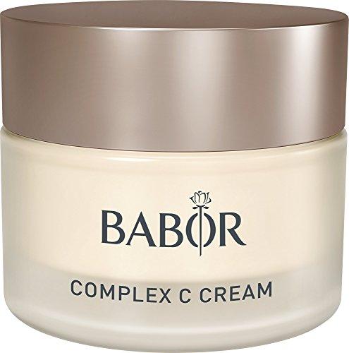 BABOR Classics Complex C Cream, reichhaltige, hautstärkende 24H Vitaminpflege, für jede müde und enkräftete Haut, 50ml