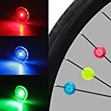 Mudder 12 Pieces Bike Wheel Lights Cycling LED Waterproof Bike Spoke Lights Colorful Bicycle Wheel Lights 3...